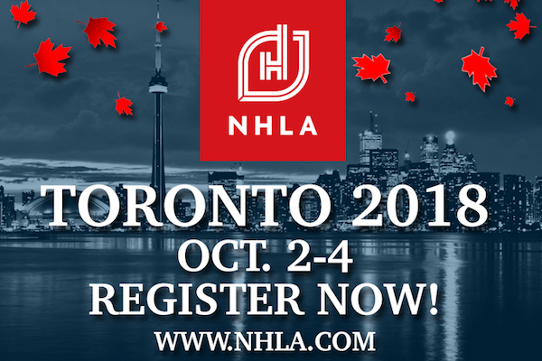 NHLA Convetion - Oct 2-4